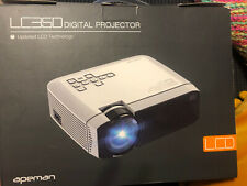 Apeman LC350 Digital Projector Updated LCD Technology Portable HD 1080P