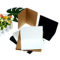 12Pcs Vintage Blank Greeting Card Kraft Postcards DIY Hand Painted Graffiti Card