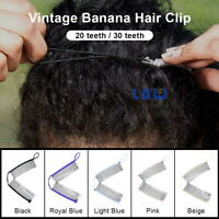 Jumbo Banana Comb Clip Thick Hair Riser Claw Interlocking Jaw Clips USA Stock