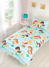 """Mermaid Friends"", Single Duvet, Easy Care, ""Kidz"" by Rapport"