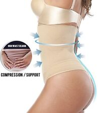 Women Slim Fat Burner Thong Tummy Tuck Belt Body Shaper Waist Trainer Shapewear