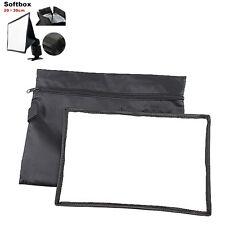 General Foldable Soft Box Softbox Diffuser for Canon Nikon Sony Minolta 20x30cm