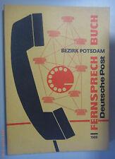 Fernsprechbuch Bezirk Postdam 1989 Falkensee Kremmen Niemegk Töpchin