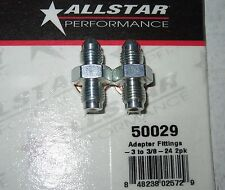 "AllStar 3/8""-24 to -3 AN Brake Caliper Adapter Fitting w/ Washer 2pk ALL50029"