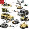 1061Pcs Military Technic Iron Empire Tank Model Building Blocks Sets Weapon War