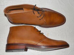 BECKETT SIMONON Tan Leather Chukka Boots EU43 US 10 M - NIB