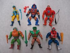 He-Man Masters Of The Universe ~ MOTU ~ Vintage Action Figure Lot #4 ~ 1980's