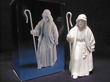 Avon Nativity Collectibles THE SHEPHERD White Porcelain Bisque Figurine