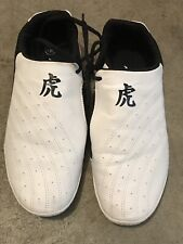 Tiger Claw Size 255 White Taekwondo Karate Kung Fu Martial Arts Shoes