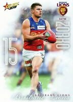✺New✺ 2019 BRISBANE LIONS AFL Card DAYNE ZORKO Footy Stars