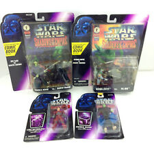 Big Lot 1996 Star Wars Shadows of The Empire Figures Boba Fett Vader Luke IG-88