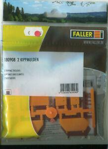 Faller HO 180908, Bausatz 2 Kippmulden