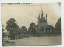 Whippingham Church Isle of Wight Vintage 1922 Publishers Proof Photograph C2