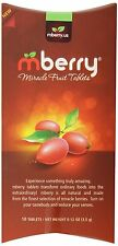 mberry Miracle Fruit Tablets 10-Count New Free Shpping
