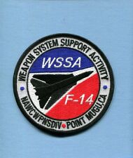 GRUMMAN F-14 TOMCAT WEAPONS SYSTEM SUPPORT NAS PT MUGU US Navy Squadron Patch