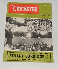 THE CRICKETER MAGAZINE MAY 12TH 1956 - THE SHREWSBURY INFLUENCE BY G.D.MARTINEAU