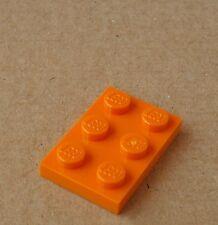 Lego 50x Platte 2x3 orange 3021 Plate Plates Platten Neu New