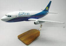 B-737 AirTran Airways USA Boeing B737 Airplane Kiln Wood Model Replica Small