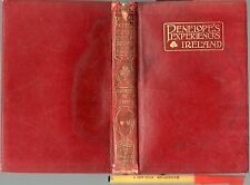 1909 PENELOPE'S EXPERIENCES in IRELAND 335pg Leather Bound GC rare