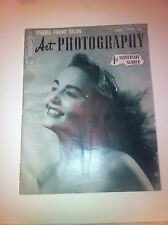 July 1950 Art Photography Magazine 1st Anniversary Nude Model Of Month Naked