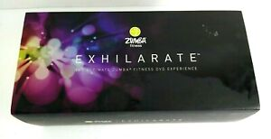 Zumba Fitness Exhilarate Body Shaping System 7 DVDs Toning Sticks Guide Workout
