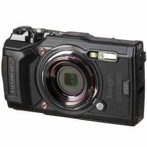 Olympus Tough TG-6 12MP Waterproof W-Fi Digital Camera (Black)