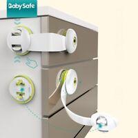 3pcs Baby Safety Lock Kids Door Drawer Fridge Sideboard Cabinet Cupboards Locks