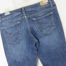 Aeropostle Hailey Flare Dark Blue Stretch Denim Jeans 5 6 Regular