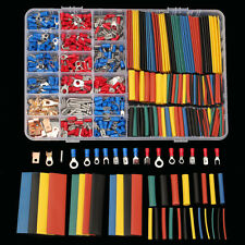 New listing 678Pcs Car Wire Heat Electrical Kit - 350 Terminals Connectors + 328 Shrink Tube