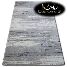 """THICK AND DENSELY WOVEN ACRYLIC, WOOL RUGS """"PATARA"""" beige grey black CARPETS"""