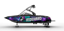 !LBRK WRAP GRAPHIC KIT DECAL BOAT SPEEDSTER SEADOO WAKEBOARD SPORTSTER RIDEHARD