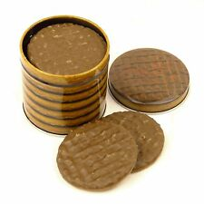 Good Enough To Eat - Small Chocolate Digestive Biscuit Tin Easy Store Refill
