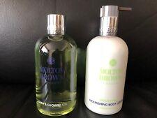 Molton Brown 2 x 300ml Wild Fairyfleur Bath & Shower Gel & Lotion Set NEW