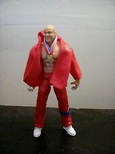 WWE WWF TNA Mattel Custom Elite Kurt Angle Figure