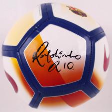 Barcelona Ronaldinho Signed Nike Soccer Ball - Autographed BAS Beckett COA