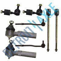8pc Front Rear Sway bar link Tie Rods Kit for Mercury Villager and Nissan Quest