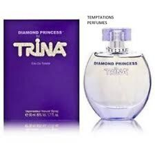 DIAMOND PRINCESS BY TRINA 1.7 OZ EDT SPRAY NIB