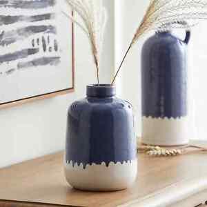 New Classic Style Ceramic Coastal Vase Easy to Wipe Clean Home Decor M-21