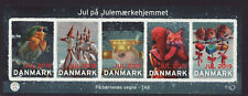 Denmark 2019 MNH - Christmas Seals - sheet of 5 stamps, megasize stamps