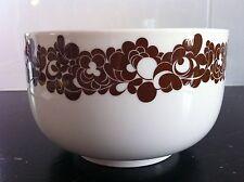 Rosenthal Cordial Plus Braun / Design W. Karnagel Schüssel 19cm / 7ties