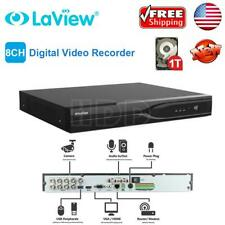 Laview 8 CH Channel 4K HD-TVI DVR Security Camera System with 1TB hard drive
