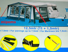 Sturmband Sturmsicherung Spannband Dachhalteband 12,5 m Camping Markise Vorzelt