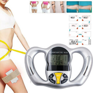 Portable Hand held Body Mass Index BMI Health Fat Analyzer Health Monitor US A+