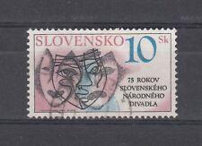 Slovacchia 1995 220 75 anniversario Teatro Nazionale USATO