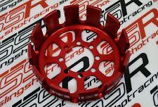New Red Ducati Monster Multistrada Hypermotard Billet Aluminum Dry Clutch Basket