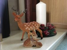 Vintage Fallow Deer Christmas Decorations