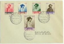 1949 San Marino Sc 296-300 First Day Cover