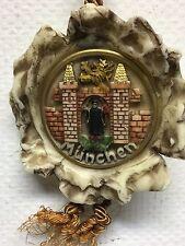 Monaco Munich BAVARIA Baviera sigillo cera 1970-80 ca. 280 gr 17,6 x 16,5 cm