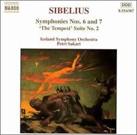 Sibelius: Symphonies Nos. 6 and 7 / 'The Tempest', Suite No. 2, New Music