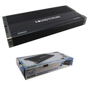 AR1-8000D 8000W Monoblock Amplifier Class D 1 Ohm Stable Car Audio